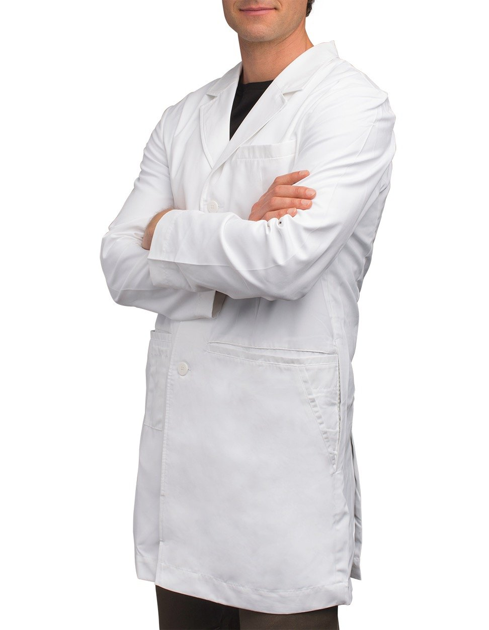 SCOTTeVEST Men's Lab Coat - 16 Pockets - Medical Uniform, Pickpocket Proof XL