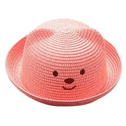Sombreros y gorras Bebé, ❤️Amlaiworld Niños Bebé Niño Niña Sombrero de Paja Playa Sombrero de ...