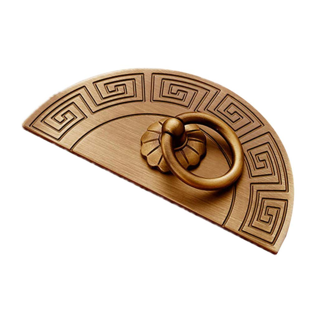 Zinc-Alloy Door Handle Round Retro Style for Drawer Handle Kitchen Cabinet T Bar Pull Dressing Table, Etc. 10, 20, 30 Pack B 20 Pieces