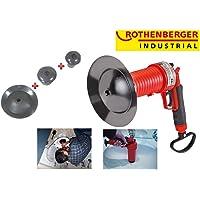 Rothenberger Industrial 1500000006 Herramienta neumáticas para Limpieza de desagües