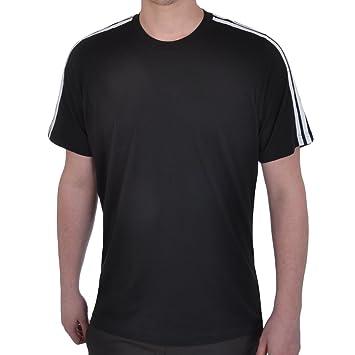 adidas Performance Mens Cotton Gym T Shirt - Black - XL - Chest ...