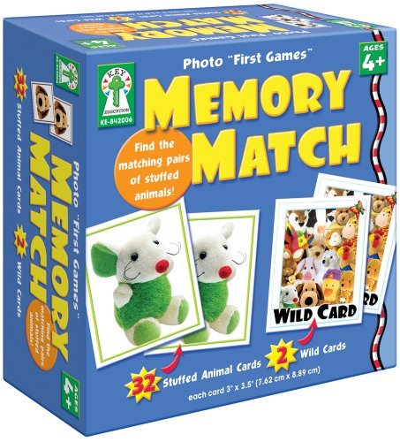 Key Education Photo ''First Games'': Memory Match Educational Board Game by Key Education