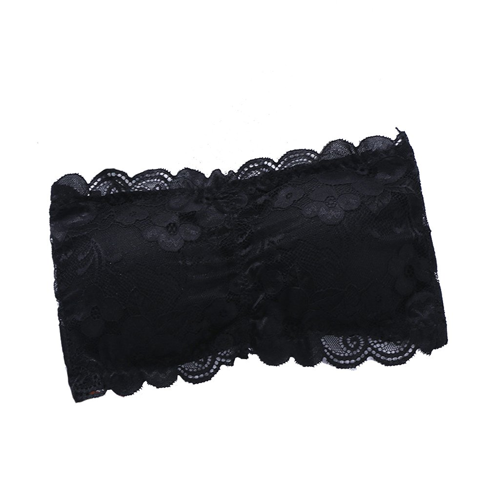 2d959f8d46bfb4 This comfortable full floarl lace bandeaus are the must-have item in your  wardrobe for this summer season. Sexy see through tube top
