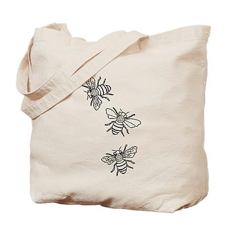 Amazon.com: Gamuza de CafePress – Bolsa de las abejas de ...