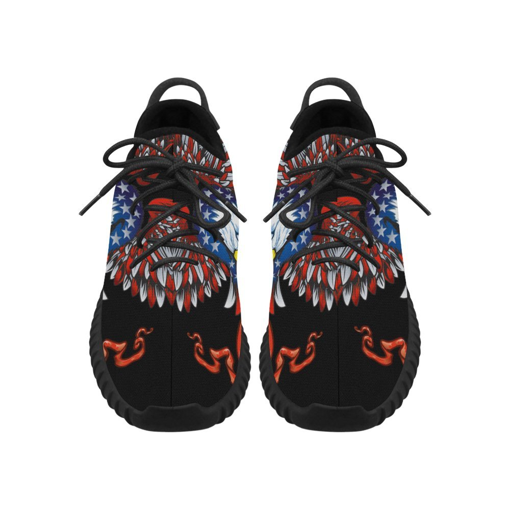 D-Story Cool Blad Eagle Grus Mens Boost Shoes Boost Sneakers Energy Bounce Breatheable Woven Running Mens Shoes