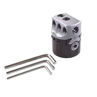 Solid Carbide Tool 0.500 Projection AlTiN Coated 0.76 mm 0.030 0.187 0.080 0.64 mm 0.025 Groove Width Minimum Bore Diameter Micro 100 QMRR-030-500-080X Quick Change Miniature Retaining Ring Grooving Tool 12.7 mm 2.03 mm Maximum Bore Depth