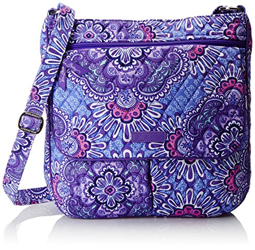 Vera Bradley Women s Double Zip Mailbag, Lilac Tapestry - Import It All f13bacaba1