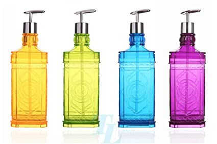 Superbe TL Beautiful Design Plastic Shower Gel Container Decorative Refillable  Shampoo Bottles