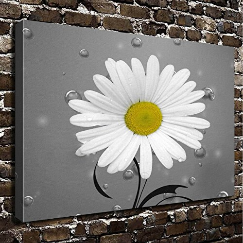 - COLORSFORU Wall Art Painting Daisy Prints On Canvas The Picture Landscape Pictures Oil For Home Modern Decoration Print Decor For Living Room