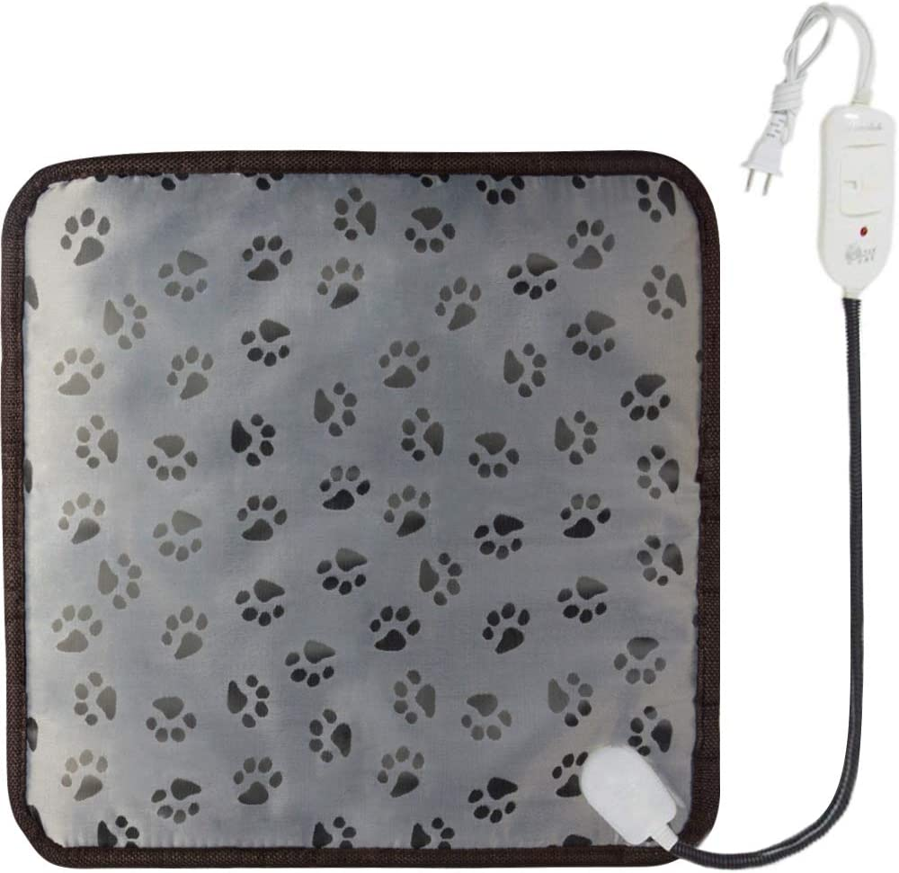 TINTON LIFE Electric Blanket for Pet Constant Temperature Warming Mat with Anti Bite Tube