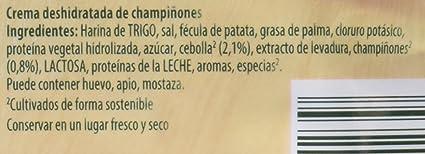 Knorr - Crema Desh Champiñones 62 gr - [Pack de 22]