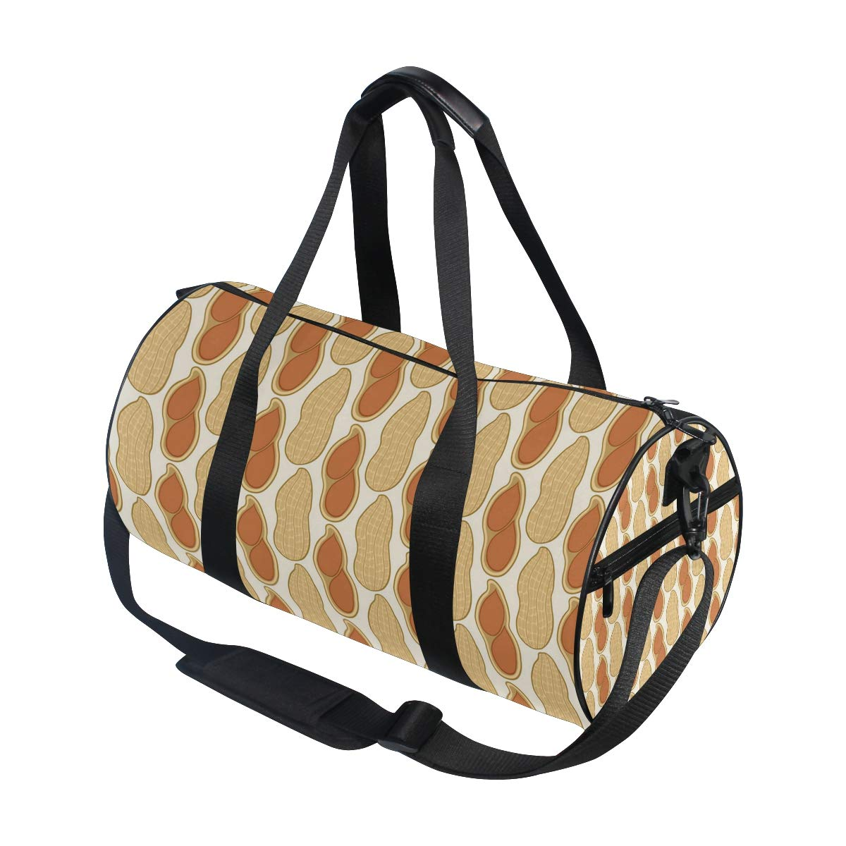 Waterproof Non-Slip Wearable Crossbody Bag fitness bag Shoulder Bag Peanut Fruit Picture
