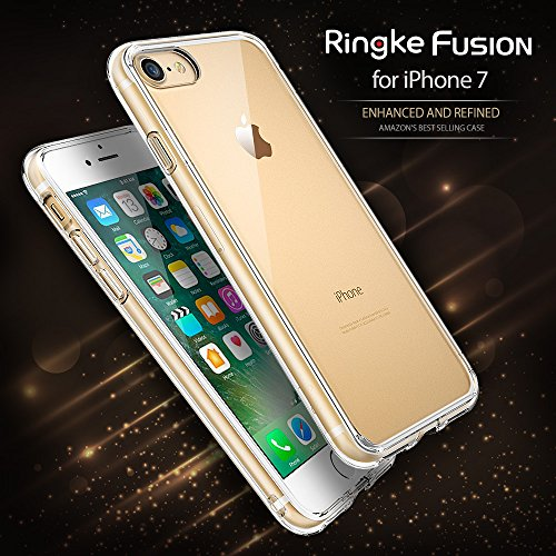 Amazon.com: IPhone 7 Case, Ringke [FUSION] Crystal Clear PC Back ...