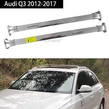 Silver Car Roof Rack Fit For Infiniti QX56 QX80 2011-2018 Top Cross Bar Pair