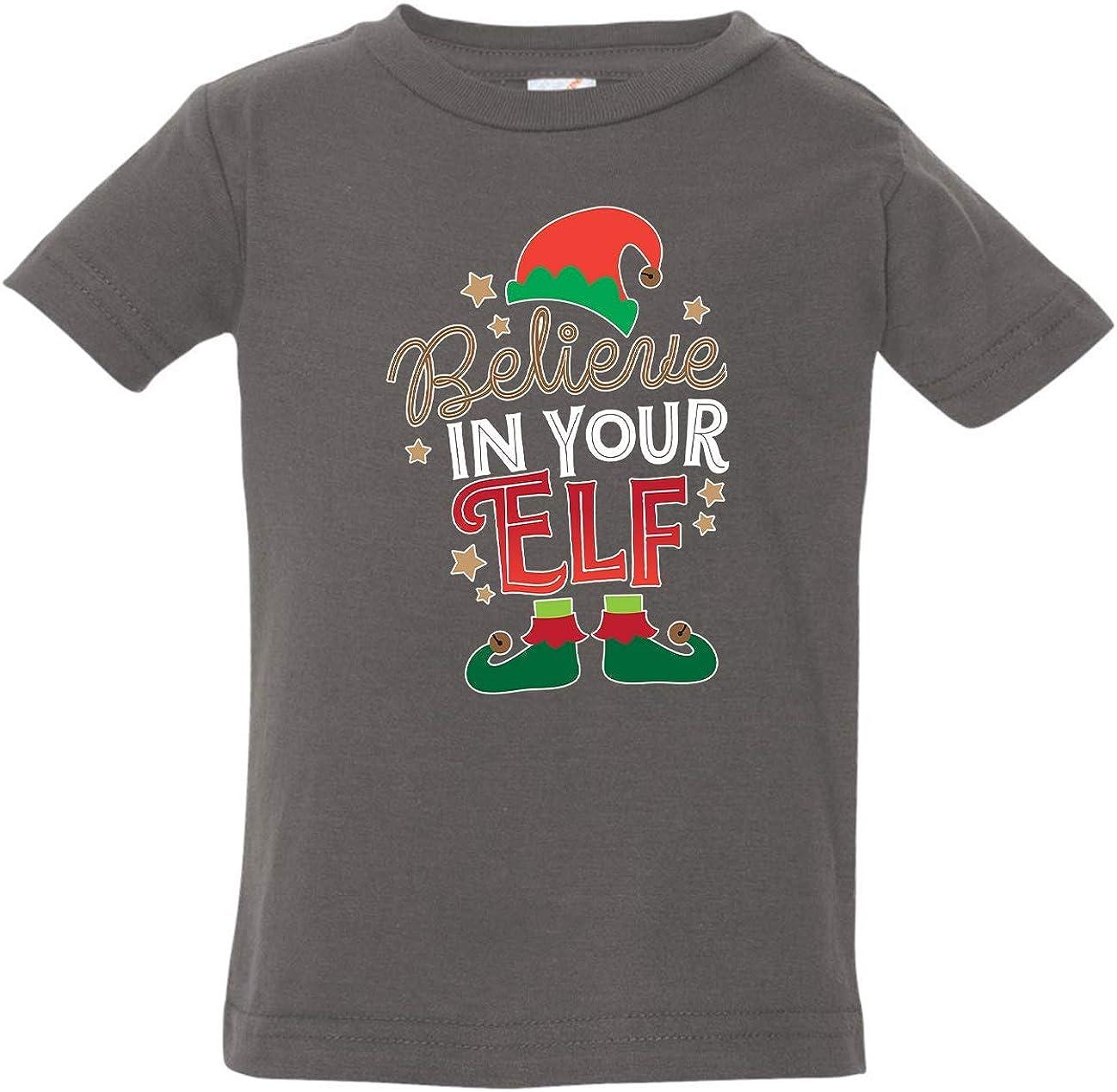 Tenacitee Babys Believe in Your Elf Shirt