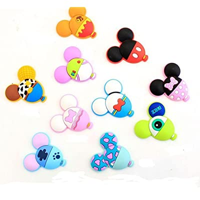 10 Chaussures Charms chaussures de charme pour Croc Chaussures et bandes de bracelet Bracelet Party Gifts #10
