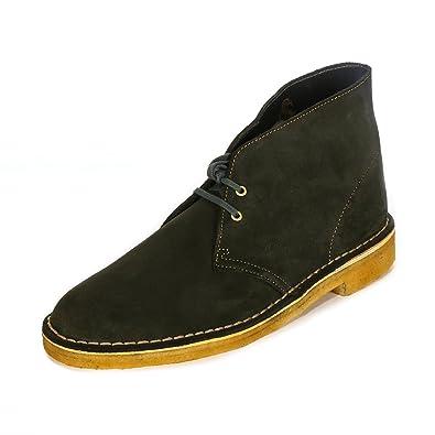 Clarks Originals Desert Boot, Botas, Hombre, Verde (Loden Green), 40