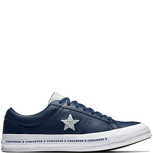 93f42430ccd Converse Men s One Star Ox Navy Dried Bamboo White