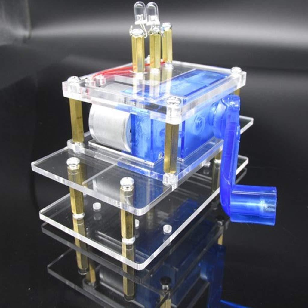 KESOTO Miniatura Dispositivos de Generación de Energía Eléctrica, Juego Completo para Montar DIY Herramientas: Amazon.es: Jardín