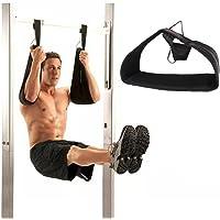 Grofitness abdominale Bras de sangles à suspendre Ceinture Pull Up Crunch Sling crossfit entraînement réglable