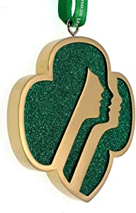 Kurt Adler GS2201 Girl Scouts of The USA Profiles Ornament, 3-inch Height, Resin