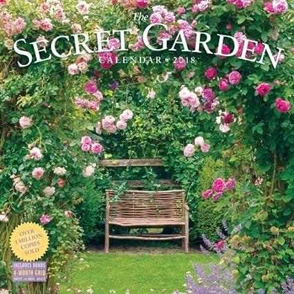Awesome Amazon Com 2018 Secret Garden Wall Calendar Kitchen Dining Andrewgaddart Wooden Chair Designs For Living Room Andrewgaddartcom
