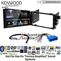 Volunteer Audio Kenwood DDX9904S Double Din Radio Install Kit with Apple CarPlay Android Auto Bluetooth Fits 1995-2004 Buick Regal, 1997-2005 Century