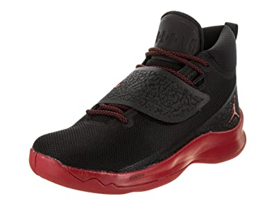 ec9e0a6c41f NIKE Men's Air Jordan Super Fly 5 PO Black/Gym Red-Gym Red 881571