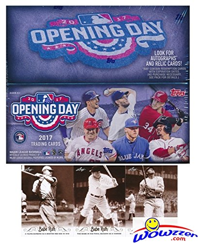 2017 Topps Opening Day MLB Baseball MASSIVE Factory Seale...