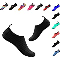 YALOX Water Shoes Women's Men's Outdoor Beach Swimming Aqua Socks Quick-Dry Barefoot Shoes for Surfing Yoga Pool Exercise
