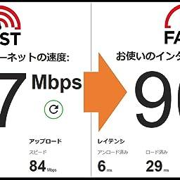 Amazon Co Jp カスタマーレビュー Netgear Wifiルーター 11ax Wi Fi6 無線lan Ax6000 Iphone 11 11 Pro Max対応 Nighthawkシリーズ 8ストリーム 無線速度 4 8g 1 2g Rax80