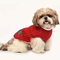 Heads Up For Tails Winter Land Dog Sweater Red (Exta Large)