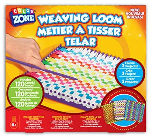 Iii Holder - Color Zone Weaving Loom Kit - Make 3 Potholders