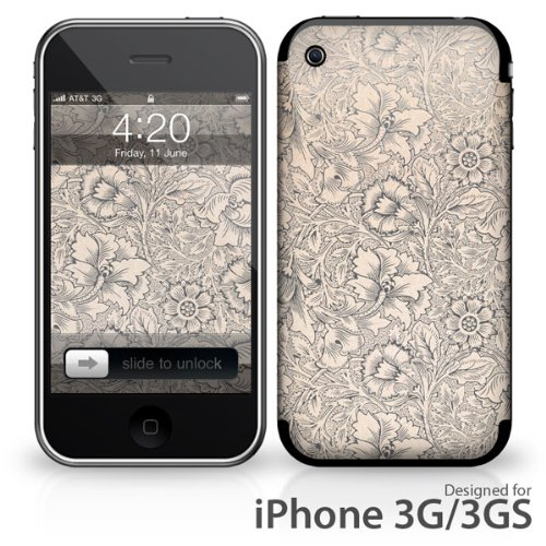 Skin für Apple iPhone 3G / 3GS - Blume filigran