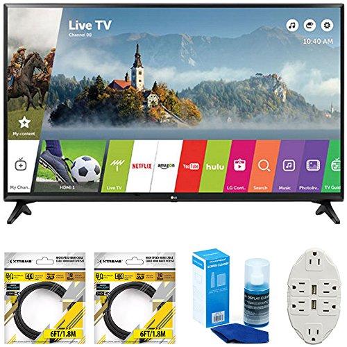 "LG 43"" Class Full HD 1080p Smart LED TV 2017 Model  with 2x"