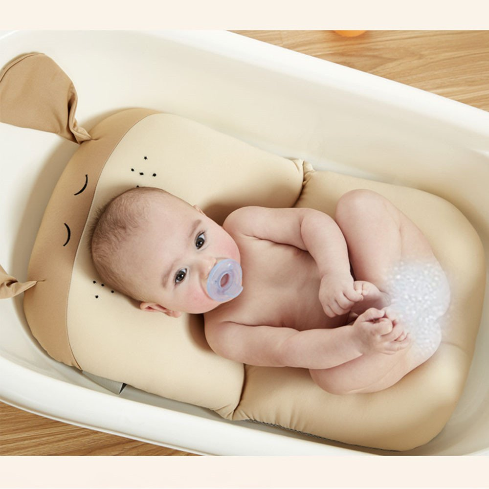 belupai Baby Bad Pad Neugeborenen Baby Faltbare Baby Badewanne Pad Stuhl Regal Neugeborenen Badewanne Sitz Infant Unterst/ützung Kissen Mat Elefant