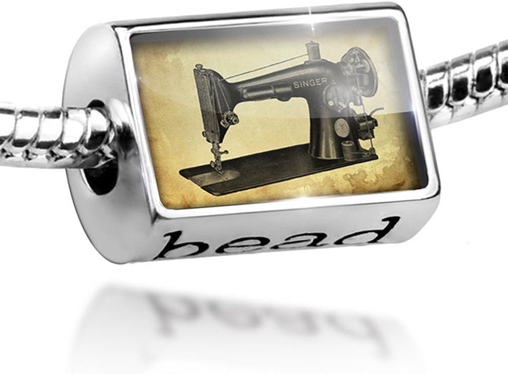 Diseño de cuentas, máquina de coser ajuste encanto pulseras de ...
