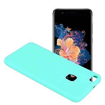 Yunbaozi Funda Compatible para Huawei P10 Lite Protective Case Carcasa Caucho Funda Protectora de Silicona Caramelo Ultra Suave Flexible Delgado ...