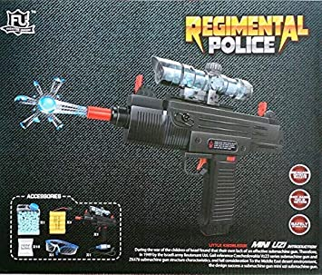 Buy Adichai Black Plastic Police Water Crystal Ball Electric Mini
