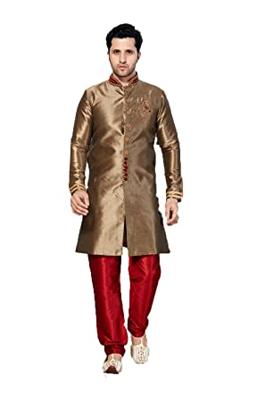 695020b8a Amazon.com  daindiashop-USA Indian Indo Western For Men Clothing ...