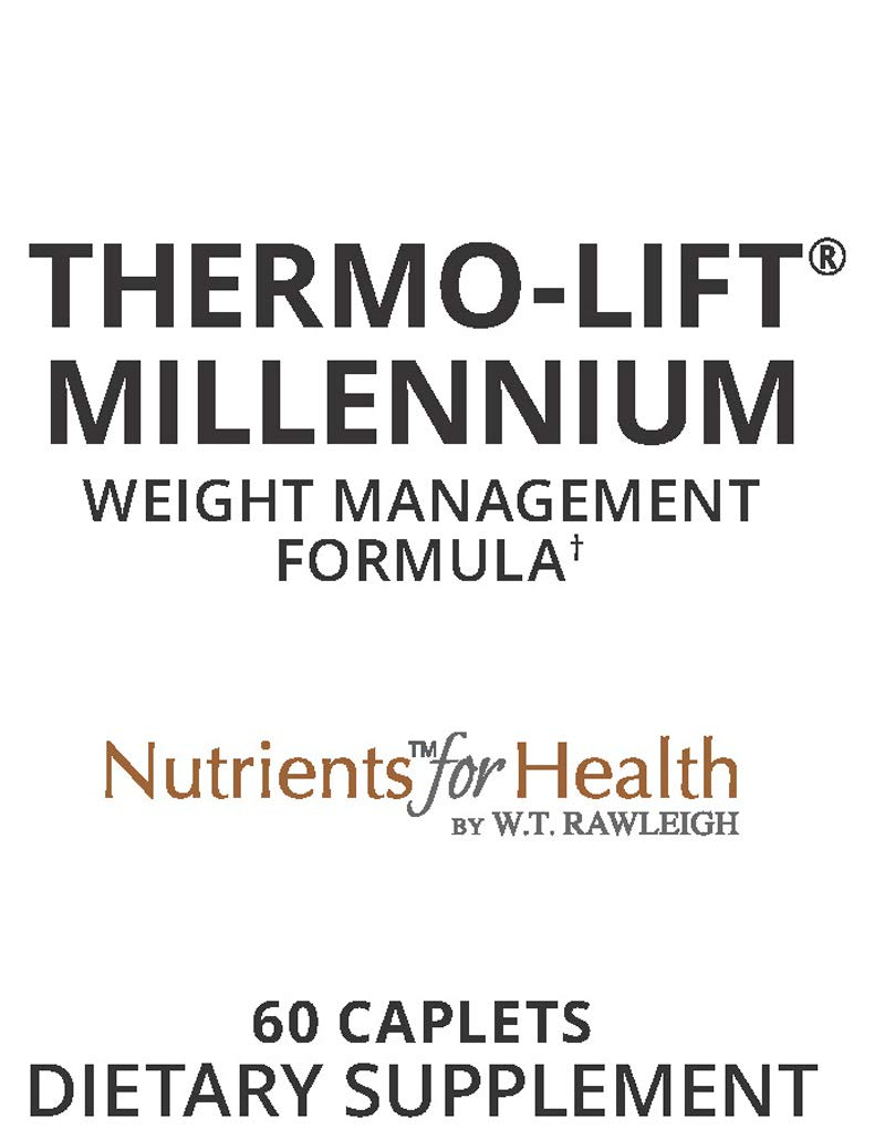 Amazon.com: Appetite Suppressant for Weight Loss - Thermo-Lift Millennium - 60 Pills Caplets – Nutrients for Health by WT Rawleigh: Health & Personal Care