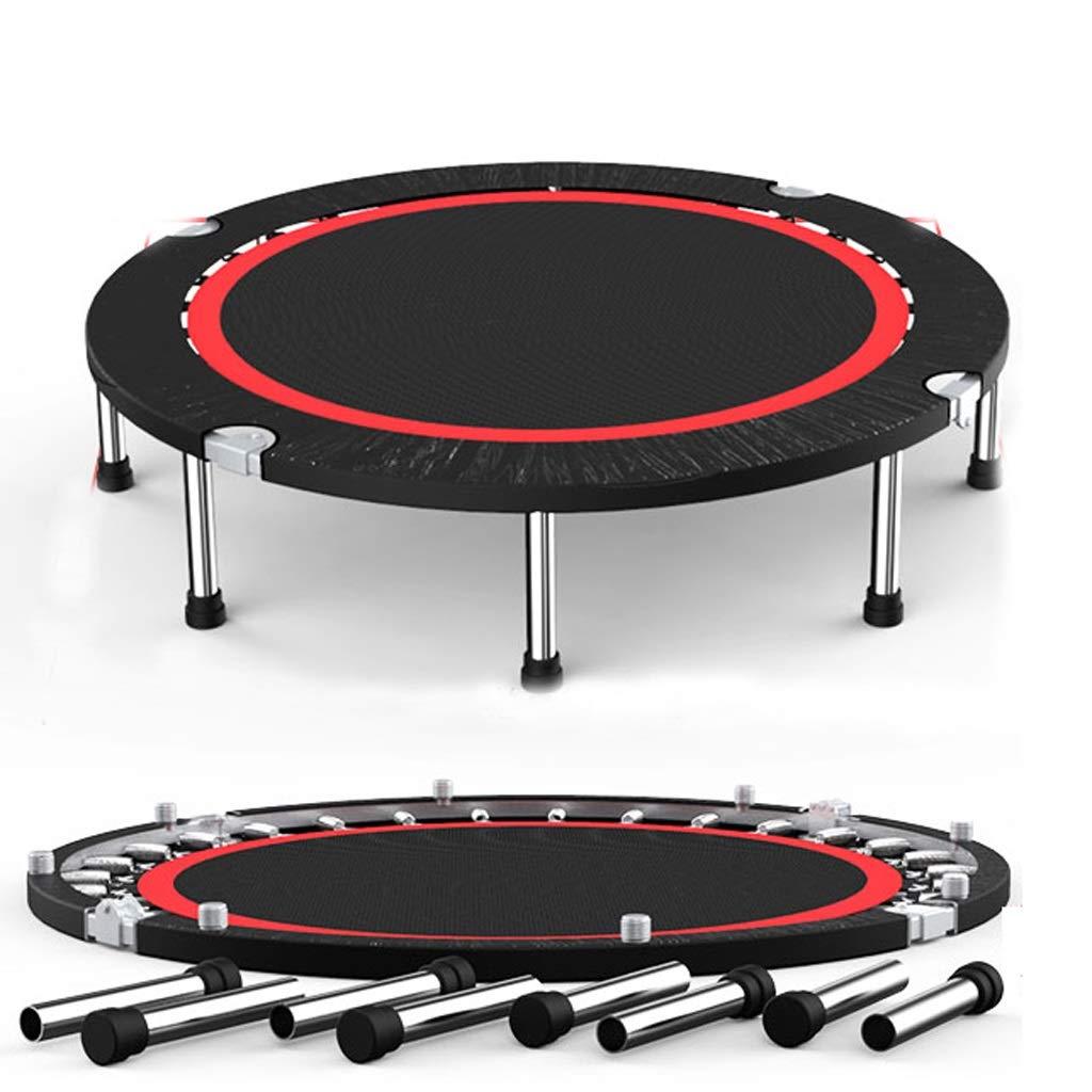 350kg JSFQ Trampolino Adulto Sport Perdita di Peso Palestra Bounce Indoor Home Bed Outdoor Trampolino da 50 Pollici (Coloree   375kg)