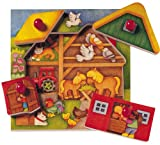 Selecta Farm Look-Inside Peg Puzzle MADE IN GERMANY