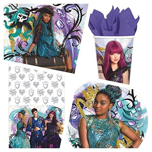 Disney Descendants 2 Birthday Party Supplies (Basic)