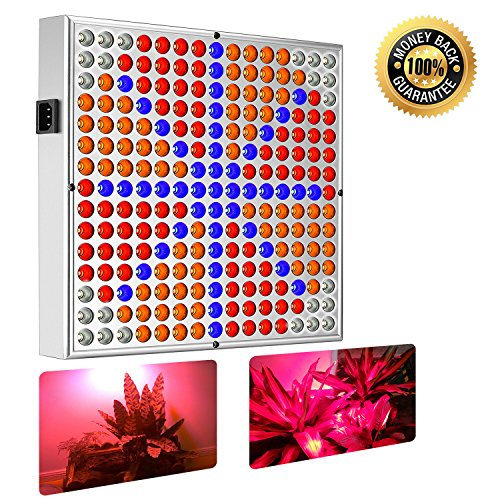 225 Led Plant Grow Light Panel Red Blue Hydroponic Lamp - 4