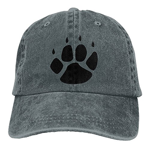 I Love Dogs Paw Print Heart Cute Outdoor Baseball Hat Adjustable