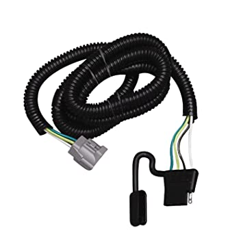 61CL209dQXL._SY355_ amazon com tekonsha 118245 4 flat tow harness wiring package wiring harness for flat towing at gsmx.co