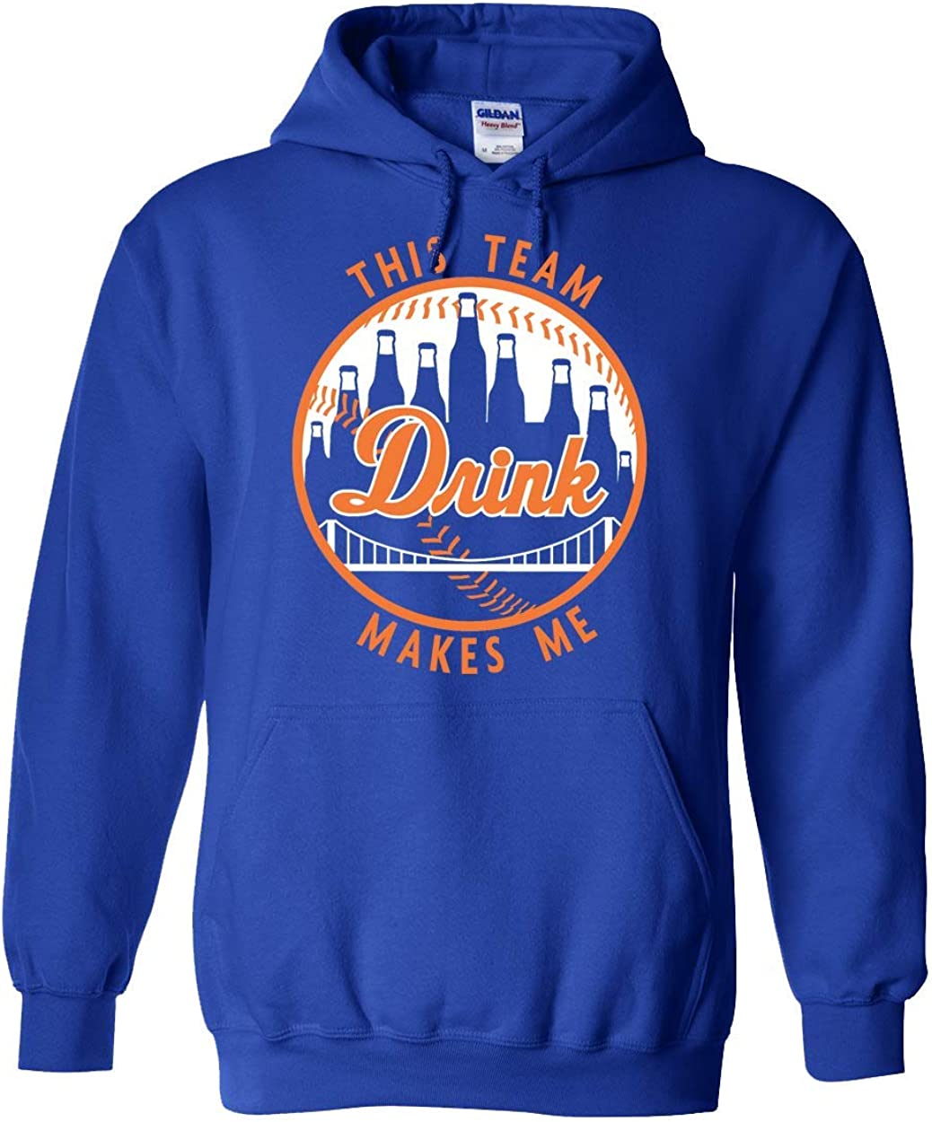 Americas Finest Apparel New York This Team Makes Me Drink BB Hoodie