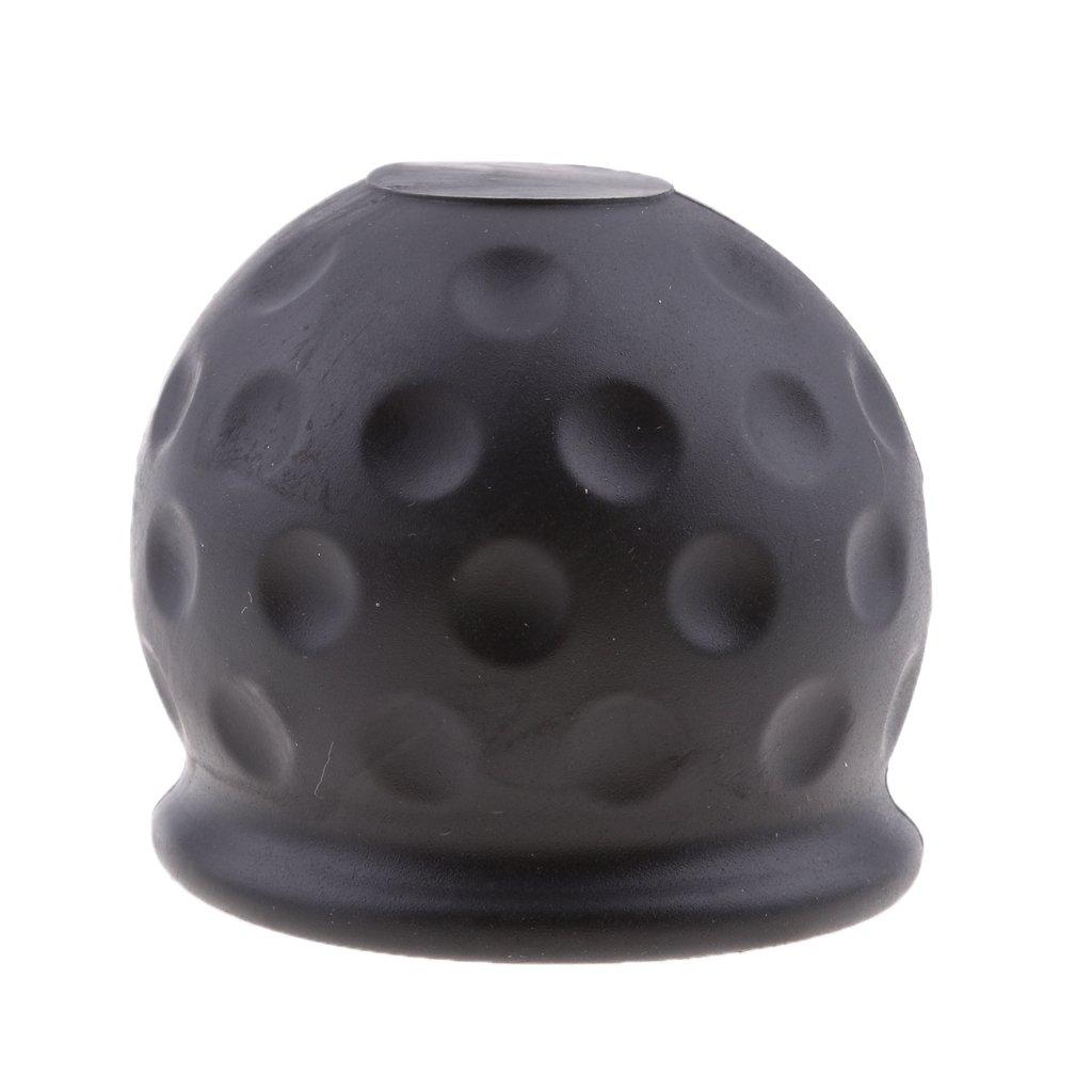 Amazon.es: Sharplace Tapa de Protector para Adaptarse Bola de Remolque para Automoviles, Negro 50mm