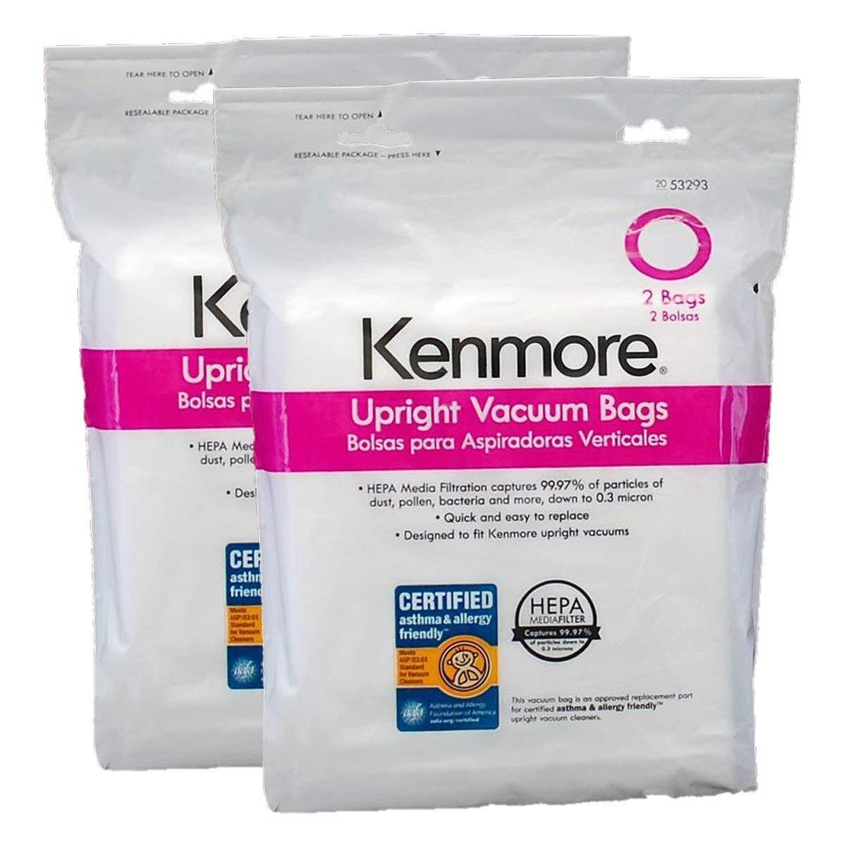 Amazon.com: Kenmore estilo bolsas de aspiradora o Hepa ...